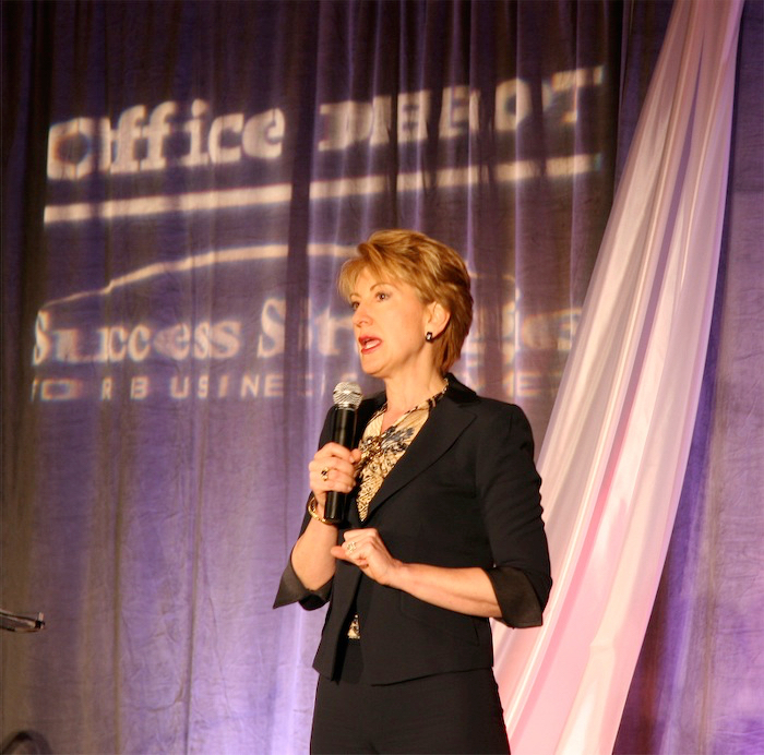 Live Event Photography, Carly Fiorina