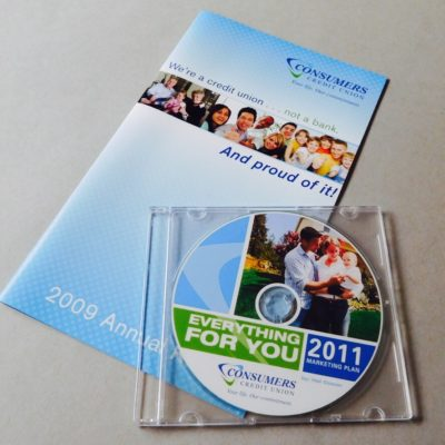 Annual Report, Print & CD